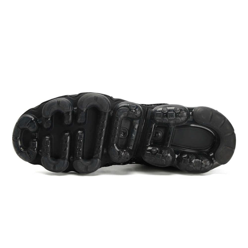 Мужские кроссовки для бега, Новое поступление, удобные дышащие кроссовки с воздушной подушкой, дышащие кроссовки # AQ8810-001