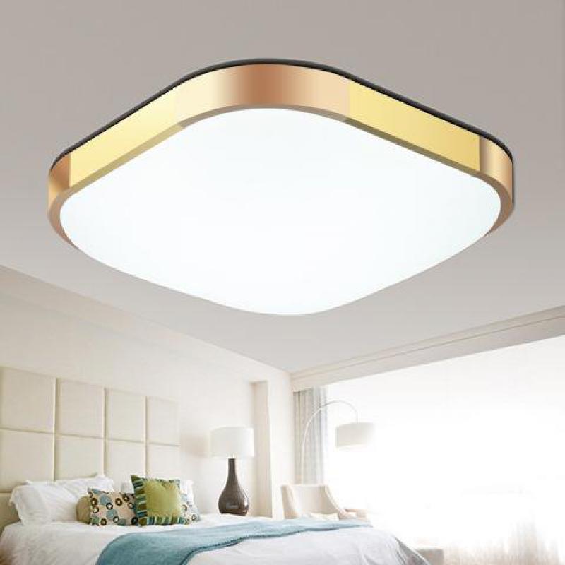 Современные светодиодные потолочные светильники для гостиной, кухни, ванной комнаты, лампы AC85 265V, светодиодные потолочные светильники с ди