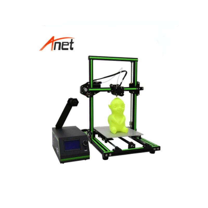 Anet E10 Elegant Green Aluminum Frame Semi Assembled 3d Printer 220 270 300mm Build Volume 3d