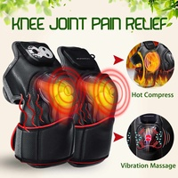 KIFIT Magnetic Vibration Heating Massager Joint Physiotherapy Massage Knee Electric Massage Rehabilitation Equipment