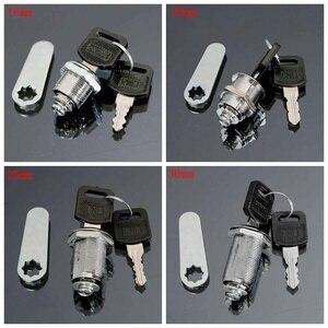 16mm 20mm 25mm 30mm Cam Lock Office Door Cabinet Locker Letter Box Drawer Cupboard Wardrobe Focer Safety Home Lock 2 Keys