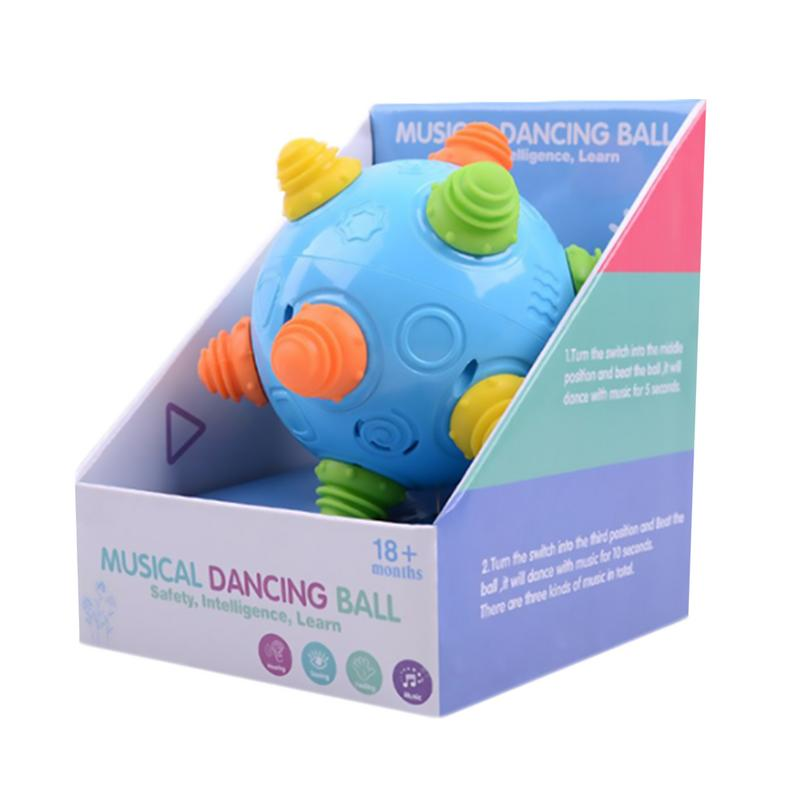 Developmental Baby Music Shake Dancing Ball Toy Free Bouncing Sensory Kids Ball