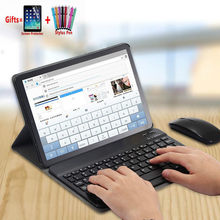 Dilepas Nirkabel Bluetooth Keyboard SM-T580 Case untuk Samsung Galaxy Tab A6 10.1 T580 T585 SM-585 Stand Cover Funda + flim + Pen(China)