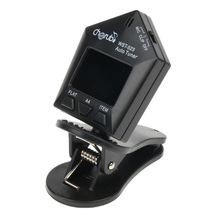 Plastic Universal Guitar Bass Ukulele Replacement LCD Display Clip on Tuner Digital