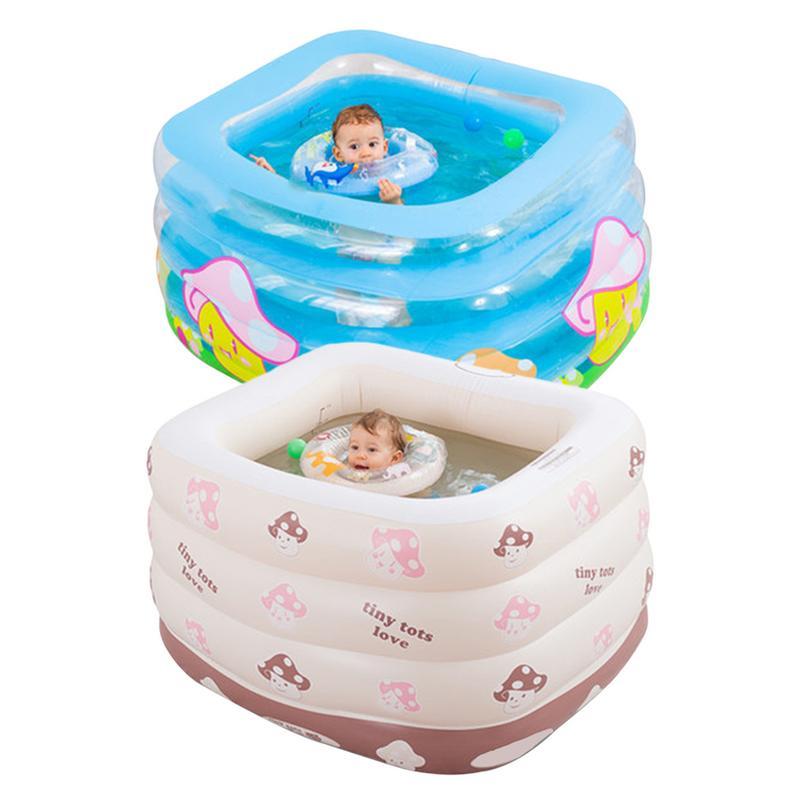 Piscine gonflable intérieure extérieure baignoire de conservation de la chaleur améliorée pour enfants baignoire de nouveau-né famille piscine nouveau-né