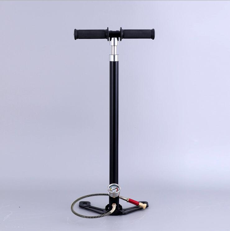 4 Stage High Pressure PCP Pump Four Stage Hand Operated Air Pump 30mpa 4500psi HPA Tank Hunting Car Bicycle Air Refilling