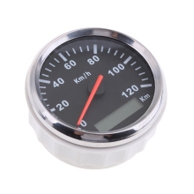 Universal Black 85mm IP67 Antifogging Speedometer Speedo 200km/h For Car Truck Motor DC 9~32V