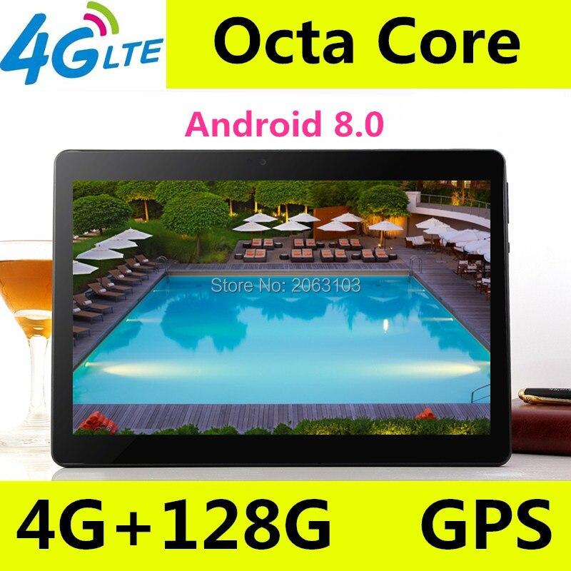 10 pouce T900 Android tablet PC Octa Core 4 gb RAM 128 gb ROM 8 Core Dual SIM Carte GPS bluetooth Appel téléphone Cadeaux MID Comprimés 10.1