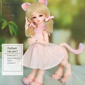 Image 5 - Rru & lililid modelo de cuerpo de muñeca BJD SD para bebés y niños, muñecos de resina, juguetes de alta calidad para cumpleaños y Navidad, 1/6