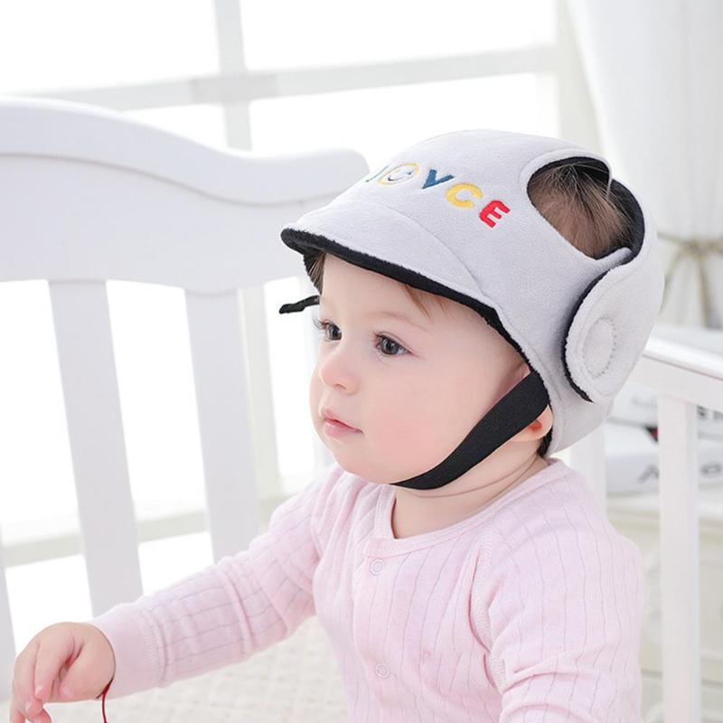Baby Protective Helmet Boy Girls Anti-collision Safety Helmet Infant Toddler Security & Protection Soft Hat For Young Kids Cap