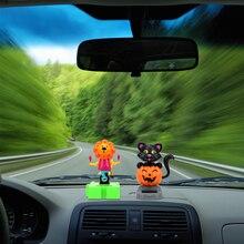 Dancing Toy Car-Ornament Car-Dashboard-Decoration Solar-Powered Auto-Accessories Car-Styling