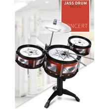 Children Jazz Drum Toy Early Educational Simulation Drum Kit Music Instrument Christmas Gift Baby Kids Music Supplies
