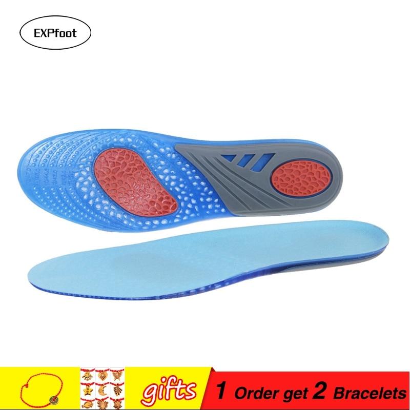 Dycarfell GEL sporta zolītes Unisex-pieaugušo ieliktņi ar labāko buferšķīdumu un triecienu absorbciju atvieglo kāju sāpes un fašciītu 7,5 -14