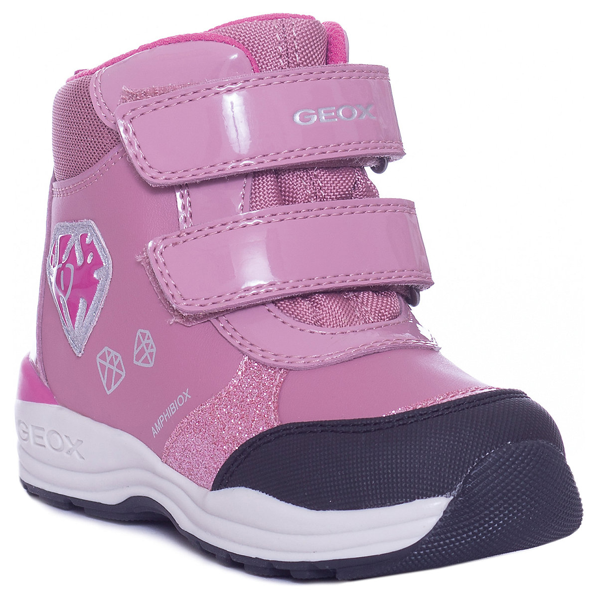 GEOX Boots 8786600 baby shoes For girl textile Winter led телевизор lg 43 lk 5400
