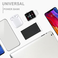 KISSCASE 10000mah Power Bank Charger External Battery PoverBank 2 USB Powerbank Portable Mobile phone Charger for Xiaomi iphone