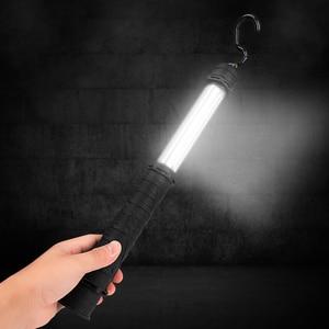 Image 5 - 60 SMD USB مصباح العمل القابل لإعادة الشحن الذيل الطلب التبديل مصباح ليد جيب المغناطيسي مصباح فحص مصباح يدوي ل سيارة إصلاح ضوء