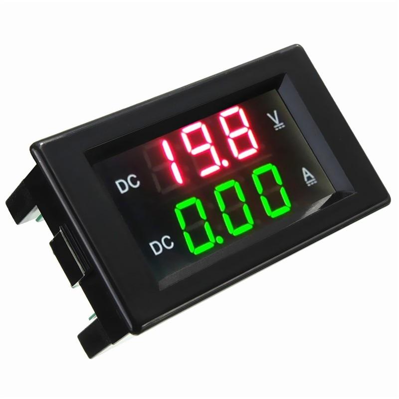 """0.39/"""" Dual LED Digital DC600V 100A Voltmeter Ammeter Voltage Amps Meter+SHUNT"""