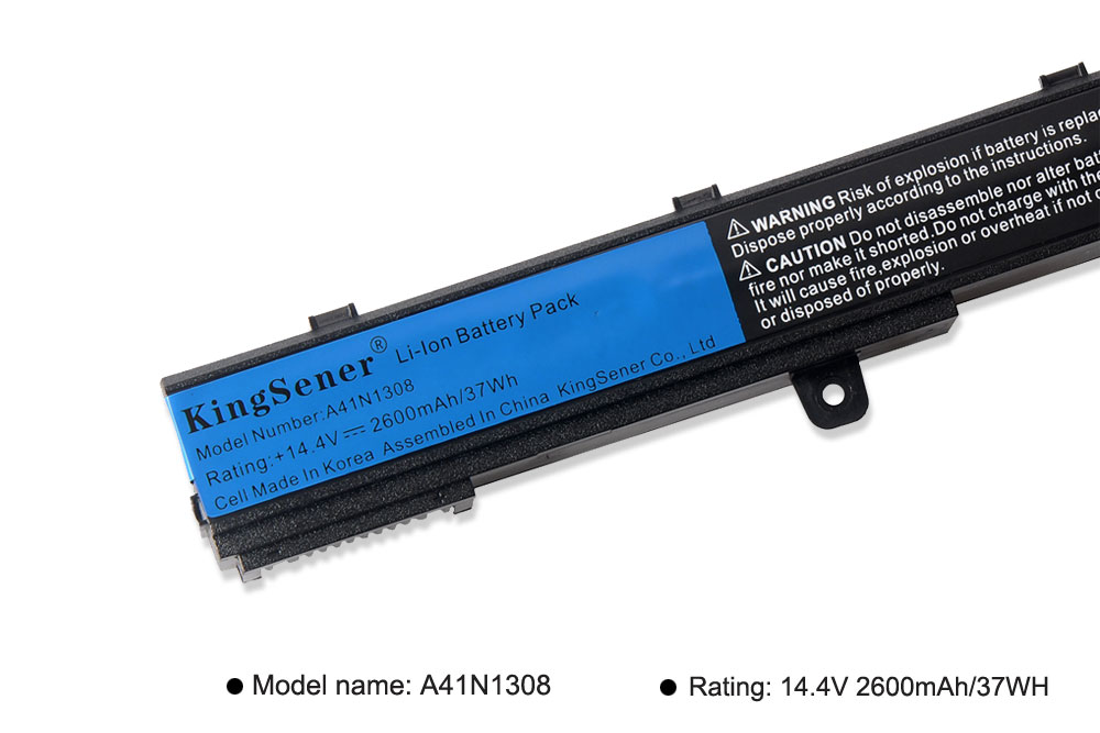 Image 5 - KingSener A31N1319 A41N1308 X551M A31LJ91 Battery for ASUS X451CA X451 X551 X451C X451M X551C X551CA F451C F551M 0B110 00250100-in Laptop Batteries from Computer & Office