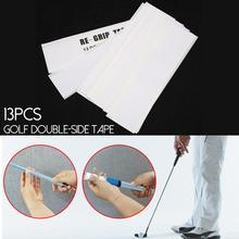 13 шт., двухсторонние Клубные клейкие полоски, крепкая клейкость для клюшек для гольфа, набор 22*5 см, резиновые для гольфа, прочные клейкие полоски