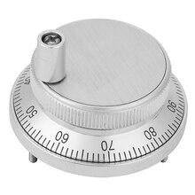 5 в 60 мм Диаметр 4 терминала ручной импульсный генератор CNC электронный маховик с ручкой высокое качество