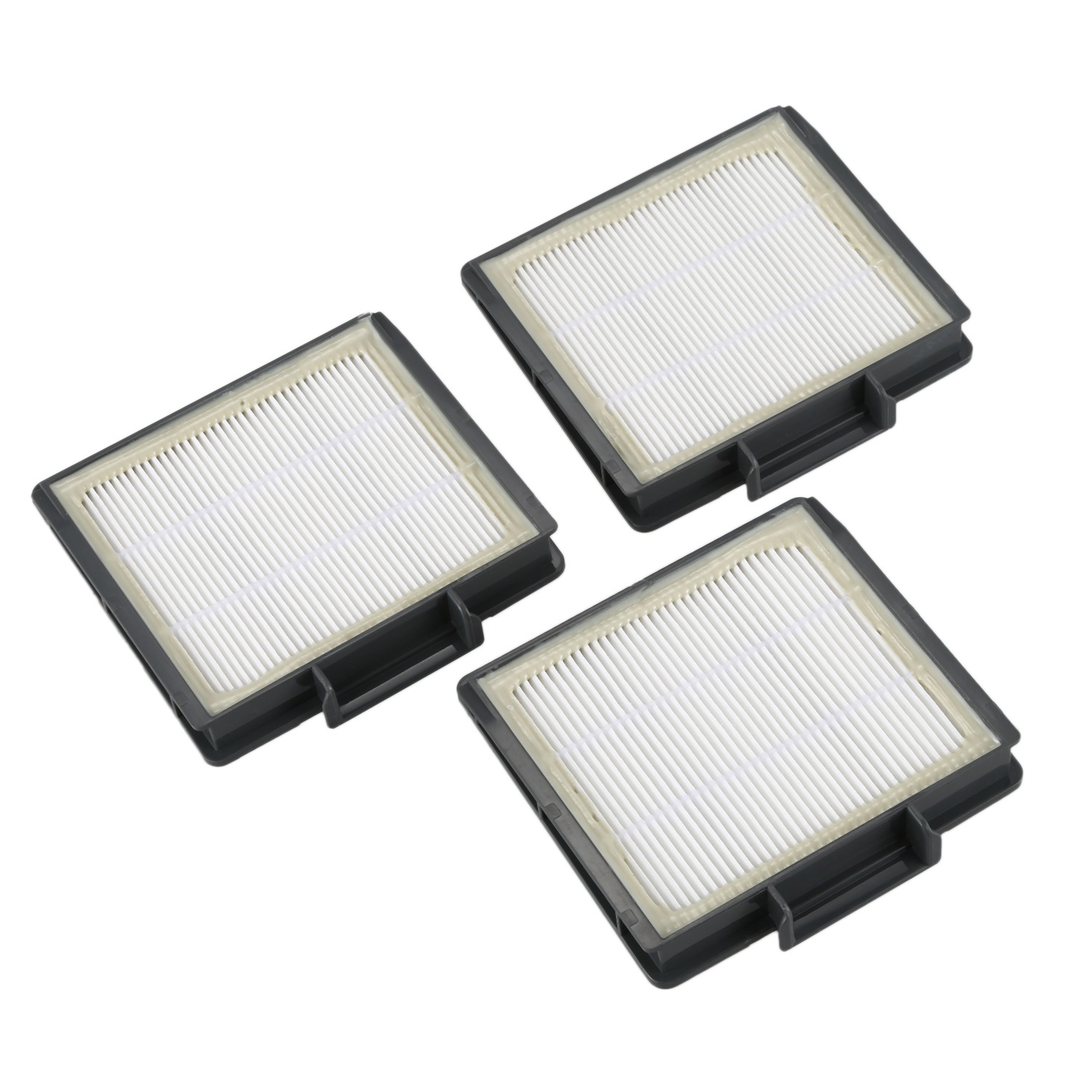 Cleaning Appliance Parts Capable 3pcs Pre-motor Hepa Filters For Shark Ion Robot Rv700_n Rv720_n Rv850 Rv851wv Rv850brn/wv Vacuum Cleaner Part Fit # Rvffk Bracing Up The Whole System And Strengthening It