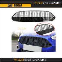 Honeycomb Front Grille Upper Grill ST Style For 2013 2014 2015 2016 Ford Fiesta