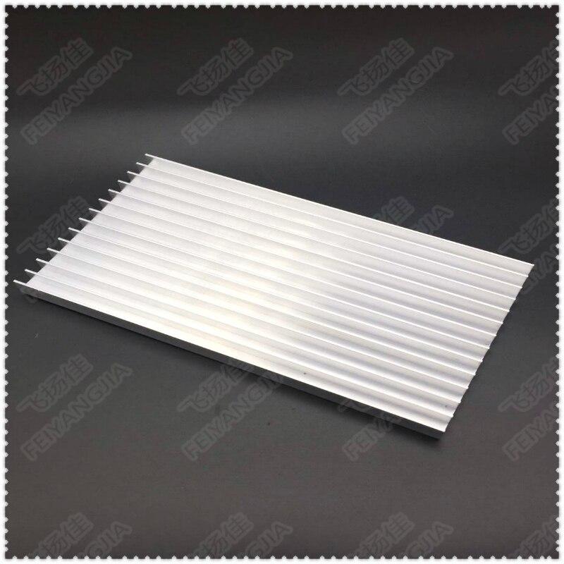 Купить с кэшбэком Heatsink 2PCS 183x101x12mm radiator Aluminum heatsink Extruded heat sink for LED Electronic heat dissipation cooling cooler