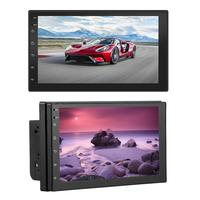Android 7.1 System 16g Memory Touch Screen Button 2 DIN 7 Inch HD Car Bluetooth MP5 Player Car Dual Ingot Universal GPS Navigati