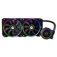 Professional ChromaFlow 240 CPU Water Cooler 12V RGB Liquid Cooling Radiator for Laptop Desktop Computer Processor Cooling Fan