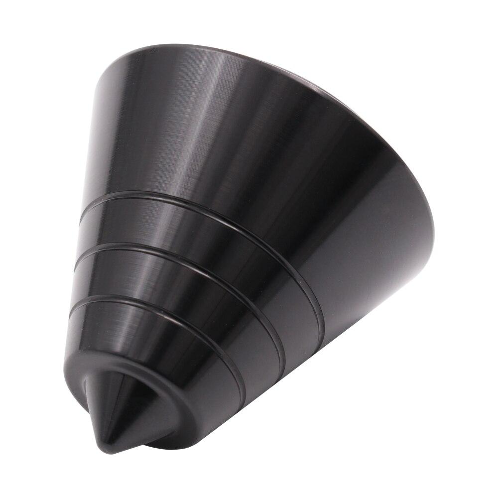 30x31mm Full Aluminum Speaker AMP Isolation Spike Feet Stand Floor Base Black M6