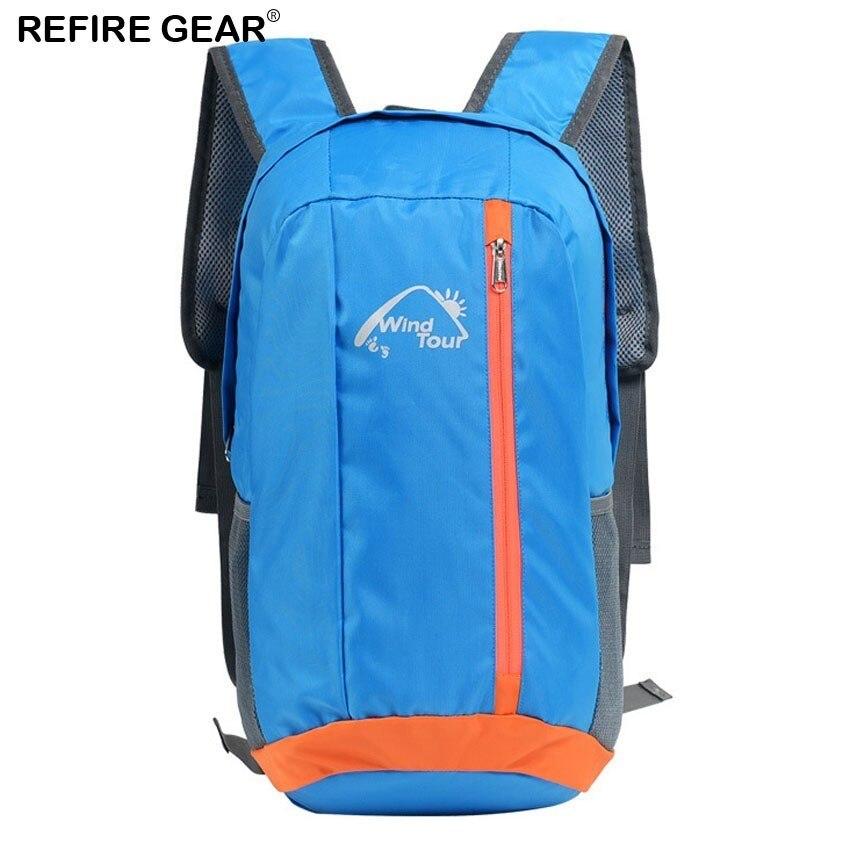 Refire Gear 12l/20l Ultralight Foldable Backpacks Men Women Outdoor Sport Climbing Trekking Fishing Running Trip Portable Bag
