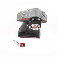 Rovan 63048 BER 2.4G 3CH LED Chinese English LCD Transmitter Remote Control for Rc Car Boat