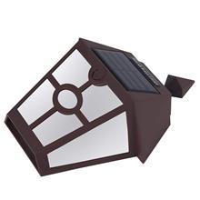Solar Lights for Wall, Porch, Garden, Fence, Path, Walkway; Sun Powered Outdoor Patio Deck Yard Lamps,Light Sensor Auto O