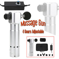 1800 3400RMM Percussive Massager Vibrating Therapy Massage 4 Speed 6 Tips Electric Professional Body Massager Vibration Relax