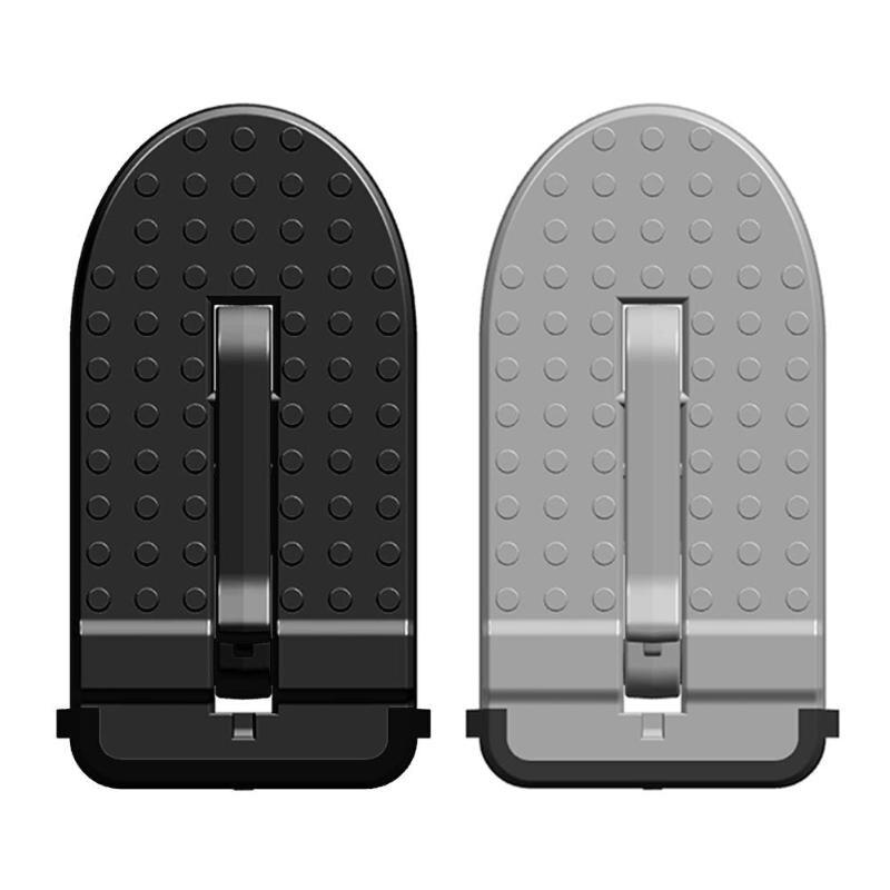VODOOL алюминиевый сплав складной автомобильный дверной защелки крюк шаг педаль Лестница Для Jeep SUV грузовик аксессуары для салона автомобиля ...