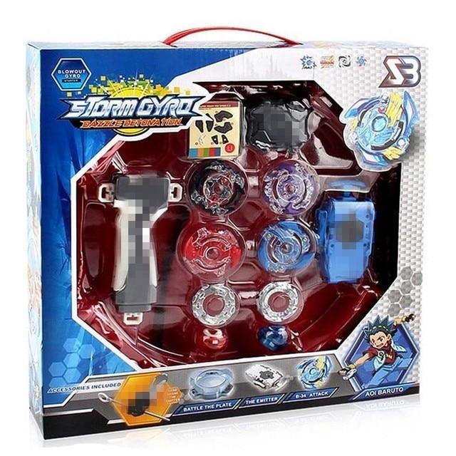 1d80549b978511 2018 BAyblade Burst Arena Beyblades Metal Fusion Avec Launcher Gott Kreisel  Bey Klinge Klingen Klassische Spielzeug Für Kinder Weihnachten