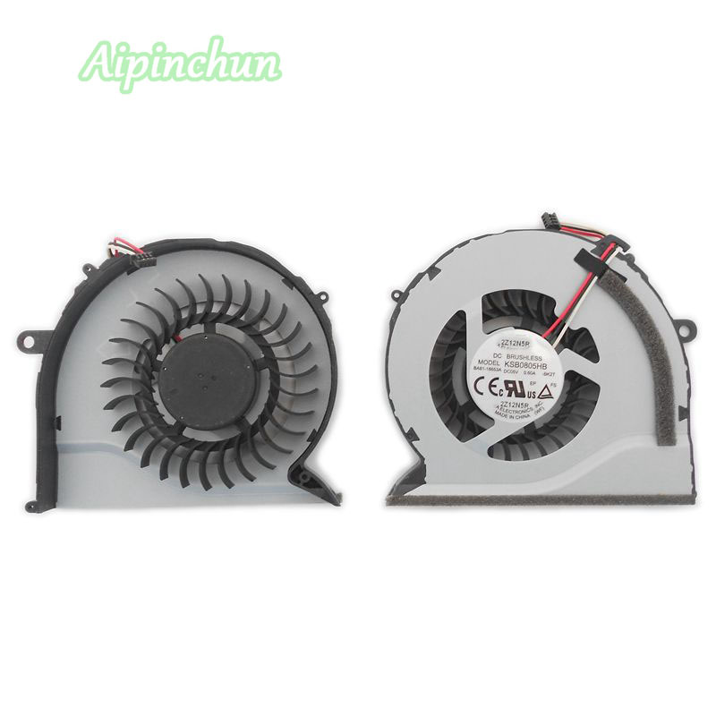 New For <font><b>Samsung</b></font> <font><b>NP550P5C</b></font> NP550P7C NP550P NP-550P5C NP-550P7C Notebook <font><b>Laptop</b></font> CPU Cooler Cooling Fan KSB0805HB BK2T BA81-16653A image