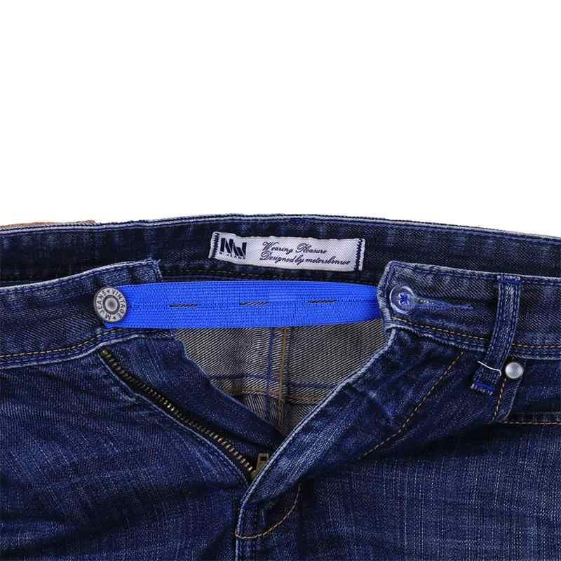 Pantolon hamile elastik toka bel kemer genişletici düğme pantolon elastik genişletici Wonder düğme kemer uzatma toka