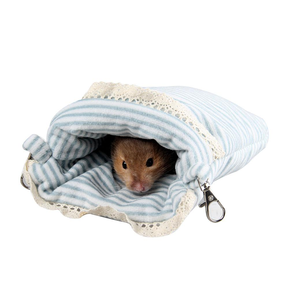 LanLan Cute Warm Pet Nest Sleeping Bag Hammock for Hamster ...