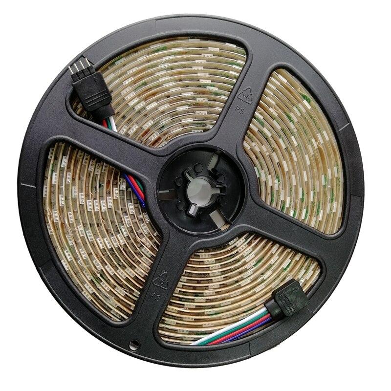 Led Strip Lights Waterproof 600Leds 32.8Ft 10M Waterproof Flexible Color Changing Rgb Smd 5050 600Leds Led Strip Light Kit+44