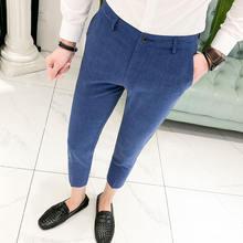Новые мужские клетчатые брюки xia fashion xinkuan в западном