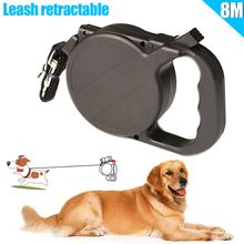 8m/26ft Dog Collar Leash Automatic Retractable Puppy Patrol Rope Walking Leads Traction Pet Supplies WXV Sale цены