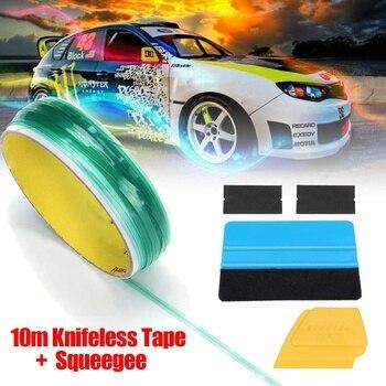 Audew 10 M vinilo coche Wrap Knifeless cinta diseño línea coche pegatinas herramienta de corte vinilo película envoltura cortar cinta Auto accesorios de coche