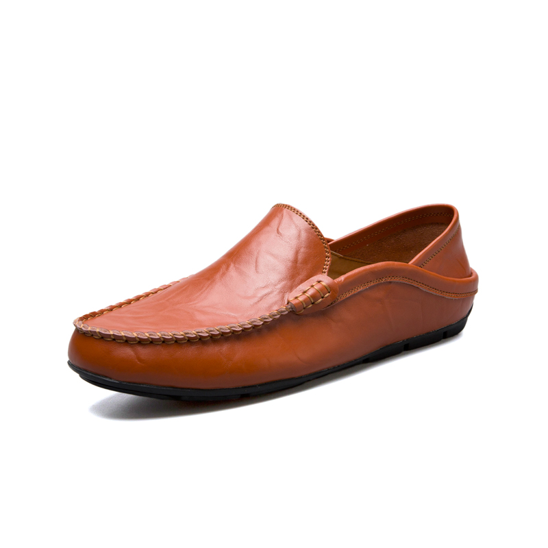 Men Shoes Moccasin Loafers Man Genuine Leather Shoes Tenis Masculino Adulto Classic Handmade Slip On