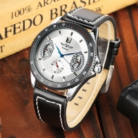 WINNER Men's Watches Automatic Mechanical Watch Date Display Men Sport Clock Leather Casual Luxury Watch for Men Relojes Homb|Mechanical Watches| |  -