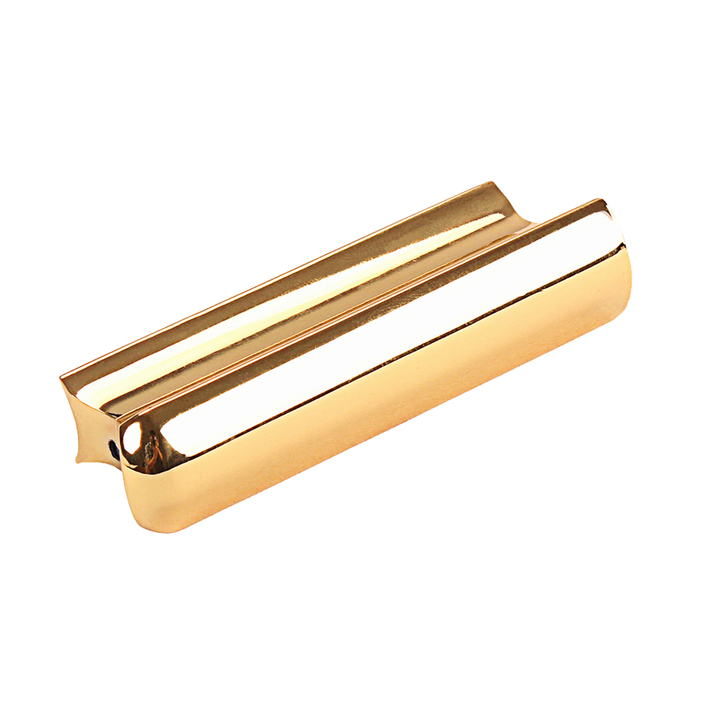 Golden Stainless Steel Lap Slide Tone Bar Stick for Guitar Pro Players Hawaii Acoustic Electric