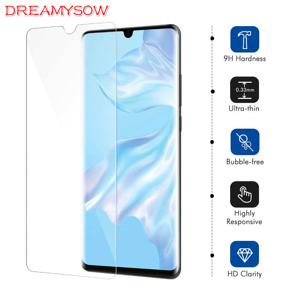 9H Tempered Glass for Huawei P30 Lite P smart 2019 Film on Honor 20i 10i 8X 8A V20 7C Y7Pro 2019 Mate20 Screen Protector Cover