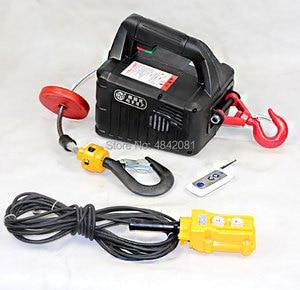 Image 5 - Treuil à palan Portable électrique 300kg, télécommande, Mini grue, Traction, 220V/110V