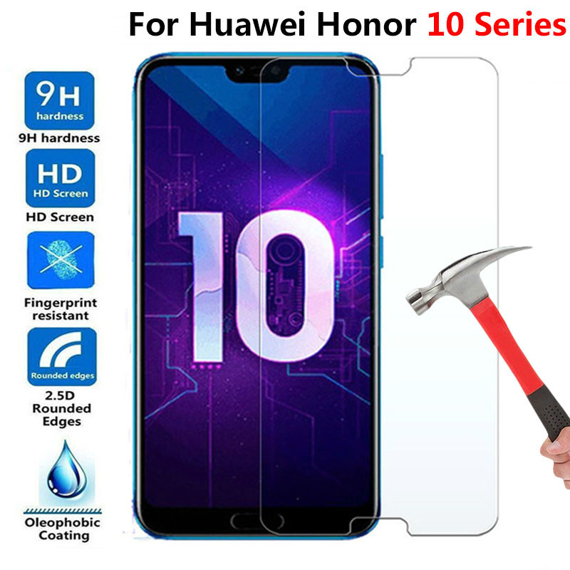 Tempered Glass For Huawei Honor 10 Lite Mate 10 Lite Pro Honor 8X 7x 6x Protective Glas Screen Protector On Honor 10 9 8 Mate10