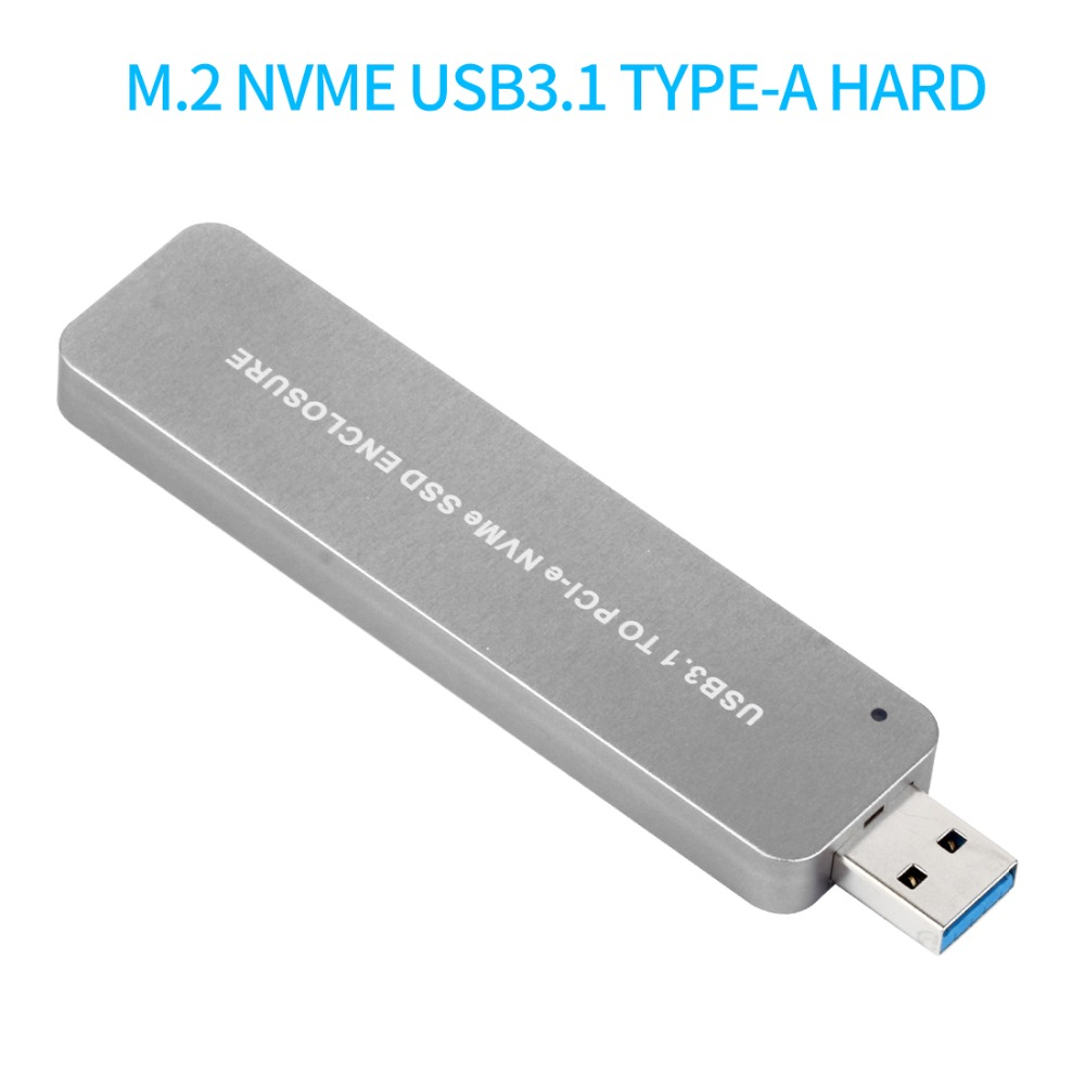 XT-XINTE LM903 USB3.1 to PCI-E NVME M.2 TYPE-A SSD Hard Disk Box Adapter Card External Enclosure Case for 2242/2260/2280 SSDXT-XINTE LM903 USB3.1 to PCI-E NVME M.2 TYPE-A SSD Hard Disk Box Adapter Card External Enclosure Case for 2242/2260/2280 SSD